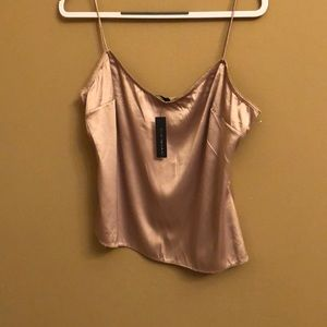 Gold camisole